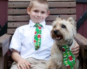 Grinch Neck Ties for Children and Dogs