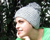 Pom Pom Hat - Big Puff - Three Colors Available