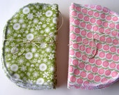Set of 20  Family Cloth Wipes  Flannel - Resuable Wipes
