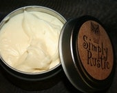 Whipped Paradise Body Butter - Organic Virgin Coconut Oil/Lime Essential Oil, Organic, Fair Trade, Wildcrafted
