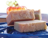 Autumn Cupcake Soap Bar  Handmade Cold Process Vegan Soap