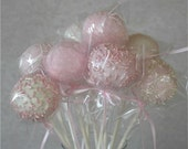 Ballet Pale Pink Gourmet Cake Pops (12)