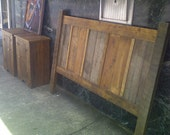 Headboard Reclaimed Wood Handmade