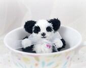 Miniature Artist Panda Plum