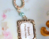 Photo Frame Bouquet Charm