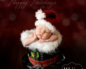 Santa Hat Pattern - All sizes - Preemie through Adult Male - PDF Sale