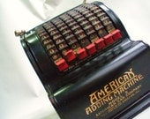 American Adding Machine in great shape - Dharmadejavu