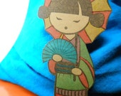 Set of 3 Bookmarks -Japanese Style
