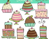 Sweet Treats Digital Clip Art