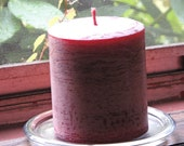 Cranberry Spice Scented Pillar Candle, Perfect for Christmas and Thanksgiving (14 ounces (397 grams)