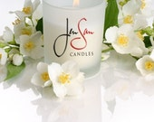 VANILLA Soy Blended Candle, 11 oz Tumbler, highly scented, pearly snow white