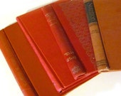 DIY rusty red book covers ready to make your own journal