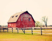 red barn color print (8x10) - PhotographsbyKLP
