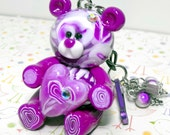 Sammy Bear Purse Charm