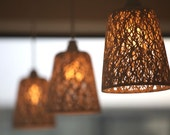 Hanging pendant light from the Branches of light collection (small) - tokyocraftstudios