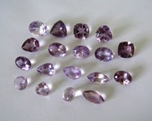 Orchid Amethyst Mixed Shape Lot/Parcel  25cttw
