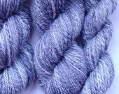 Handspun Yarn - 2 Ply Merino wool - Miss Havisham's Veil