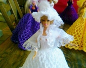 New Handmade  VICTORIAN STYLE BALLGOWN clothes for Barbie Dolls designed and made by nannycheryl  920 x 00
