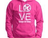 Hunger Games - LOVE Changes the Games - Hoodie in Pink