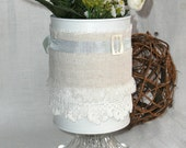 Flower Vase - Recycled Tin Can