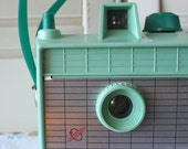 Vintage Savoy Camera in Mint Green- FREE DOMESTIC SHIPPING - dulcinas