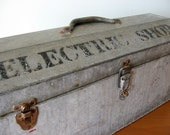 Vintage Industrial Toolbox - Electric Shop - vintageseventyfive