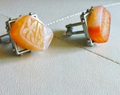 Amber Cuff Links by ChoklatTea