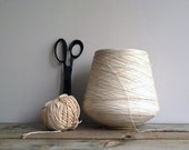 3 lb Vintage Spool of String, Packaging, DIY, Crafting Supplies, Wrapping, Kite Flying, Needle Arts - 5gardenias