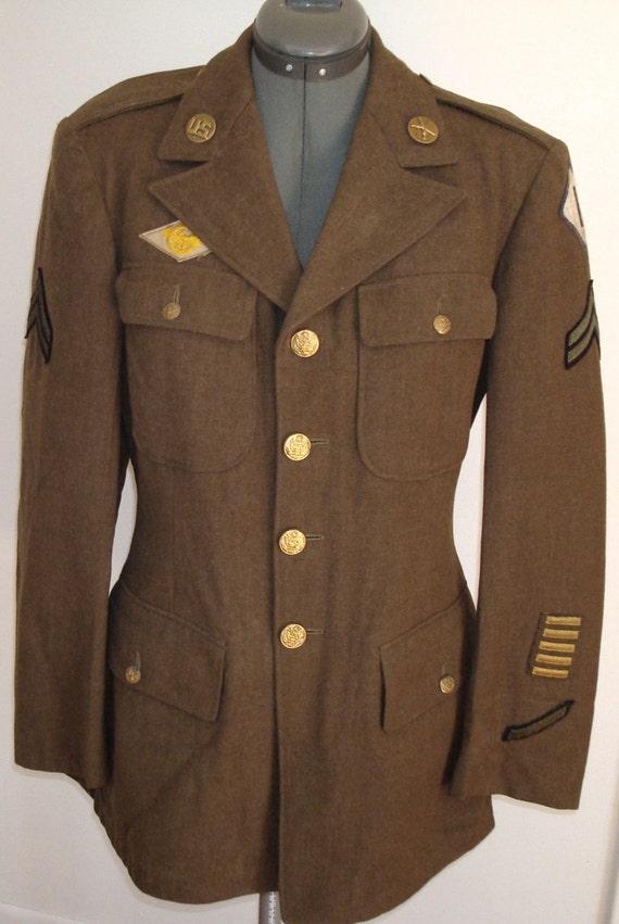 Wwii Army Dress The Dress Shop