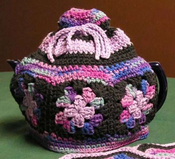 Free Crochet Pattern Small Tea Cozy : SMALL TEAPOT COSY CROCHET PATTERN ? Free Crochet Patterns
