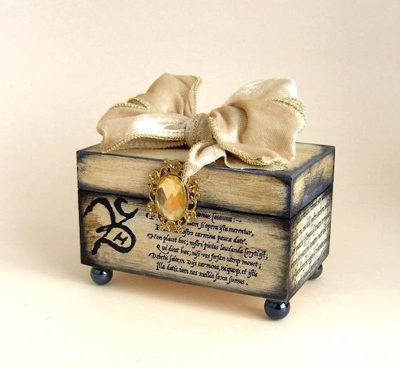 Брелок Keepsake Box Свадебный Белый