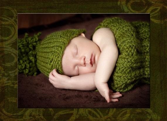 گره دگرگونی عایق کودک کبریتی سبز و کلاه -- عکس حائل کردن یا شدن