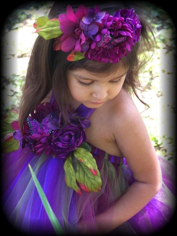 زیبا آلو پاییز ظرافت توتو لباس عروسی دختر گل پرتره 12 ماه 18 2T 3T 4t 5T 6