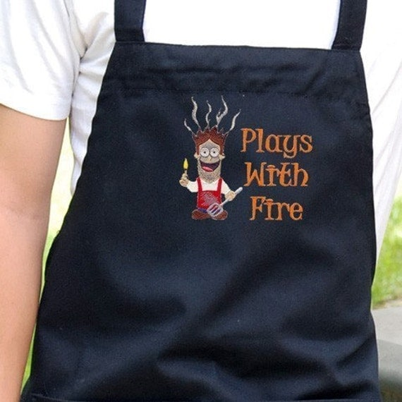 "Kids Aprons, Kids Chef Hats, Personalized Aprons, 16"", 19"", 24"" Aprons"