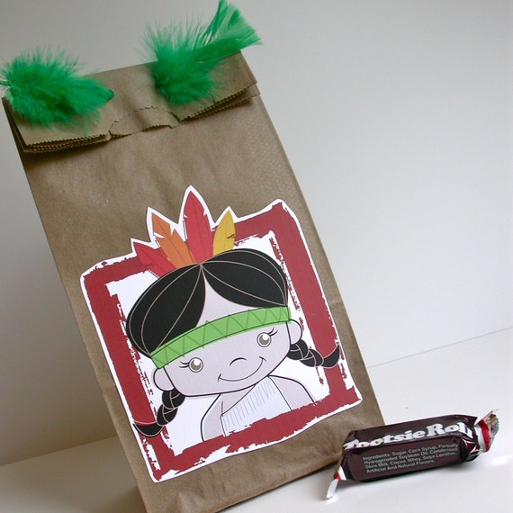 Indian Party Goodie Bags by designlab443 on Etsy