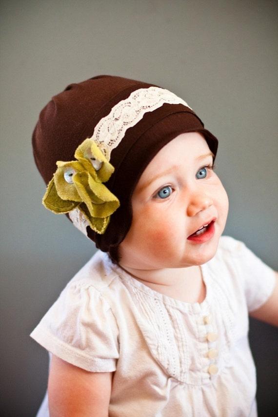 Душистый горошек Маки SNUGARS Cloche шляпа шапка шапочка оголовье девочки ребенок новорожденный малыш