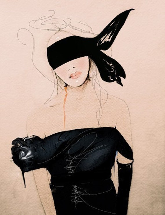 Lanvin2 SS/10- Fashion Illustration Art Print
