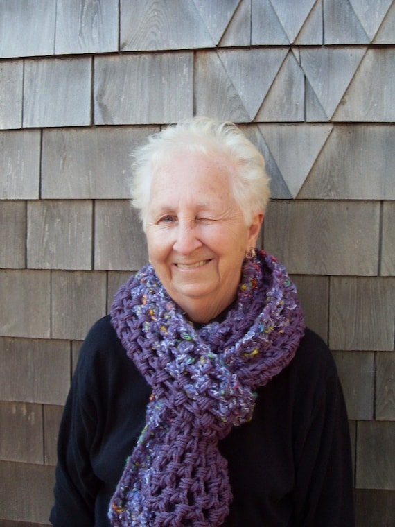 Crocheted Scarves on Etsy - Crochet cowls, neckwarmers