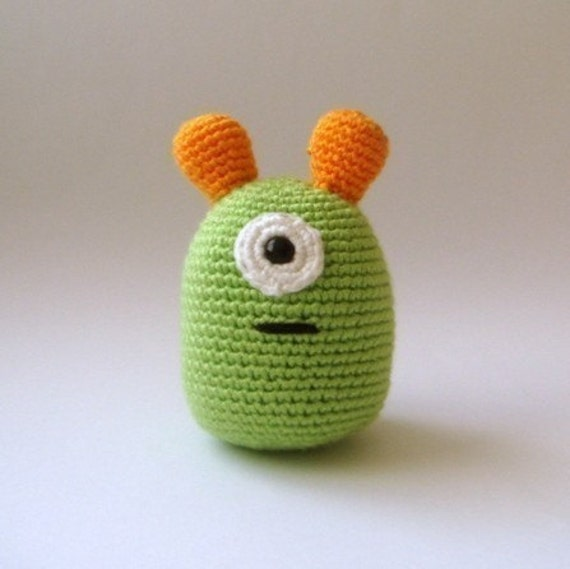 amigurumi plush  alien
