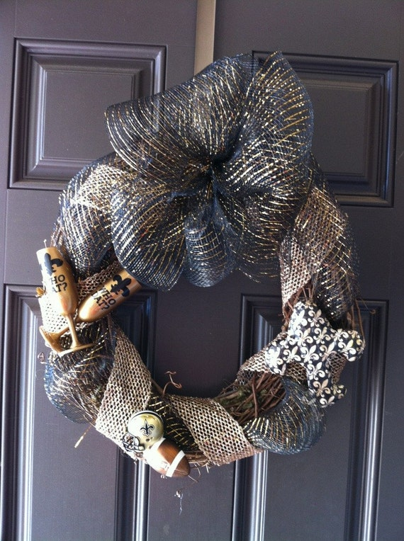 New Orleans Saints Wreath-SALE