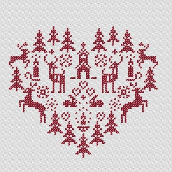 CHRISTMAS CROSS STITCH PATTERNS FREE « Free Patterns