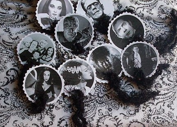 Monster Mash---A Gothic Gift Tag Combo Pack