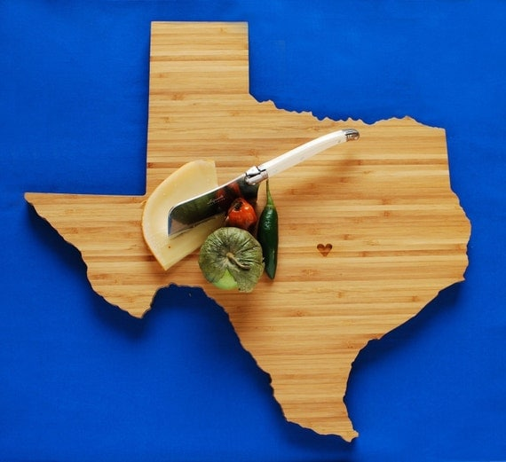 AHeirloom's Texas State Cutting Board