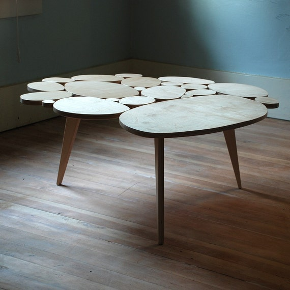 Modern Coffee Circles Table Medium