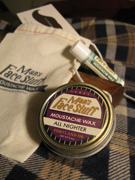 All-Nighter Coffee and Pipe Tobacco Moustache Wax
