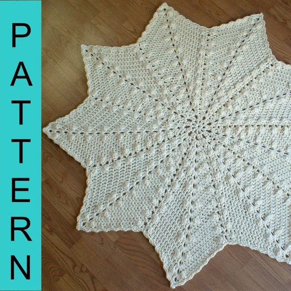 Free Baby Afghan Crochet Patterns : ROUND RIPPLE AFGHAN CROCHET PATTERN Crochet For Beginners