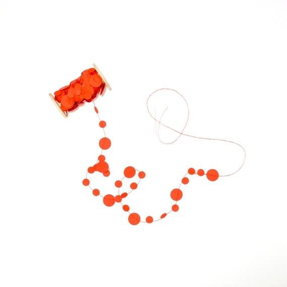 Poppy Confetti Garland