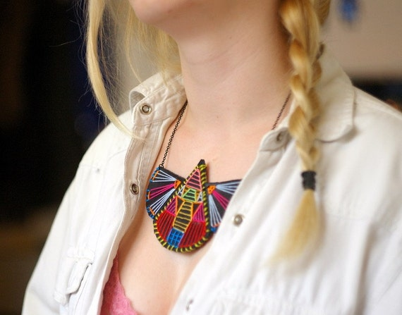 Awesome Embroidery Necklace