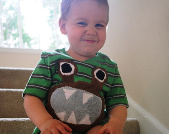 Custom Kids Monster Tee Shirt or Onsie