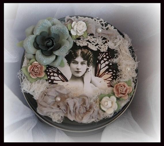 Faerie Желание Олово, подарок, феи, волшебные, Синди Эдкинс, смешанная техника, Ее Причудливая Размышления на Etsy